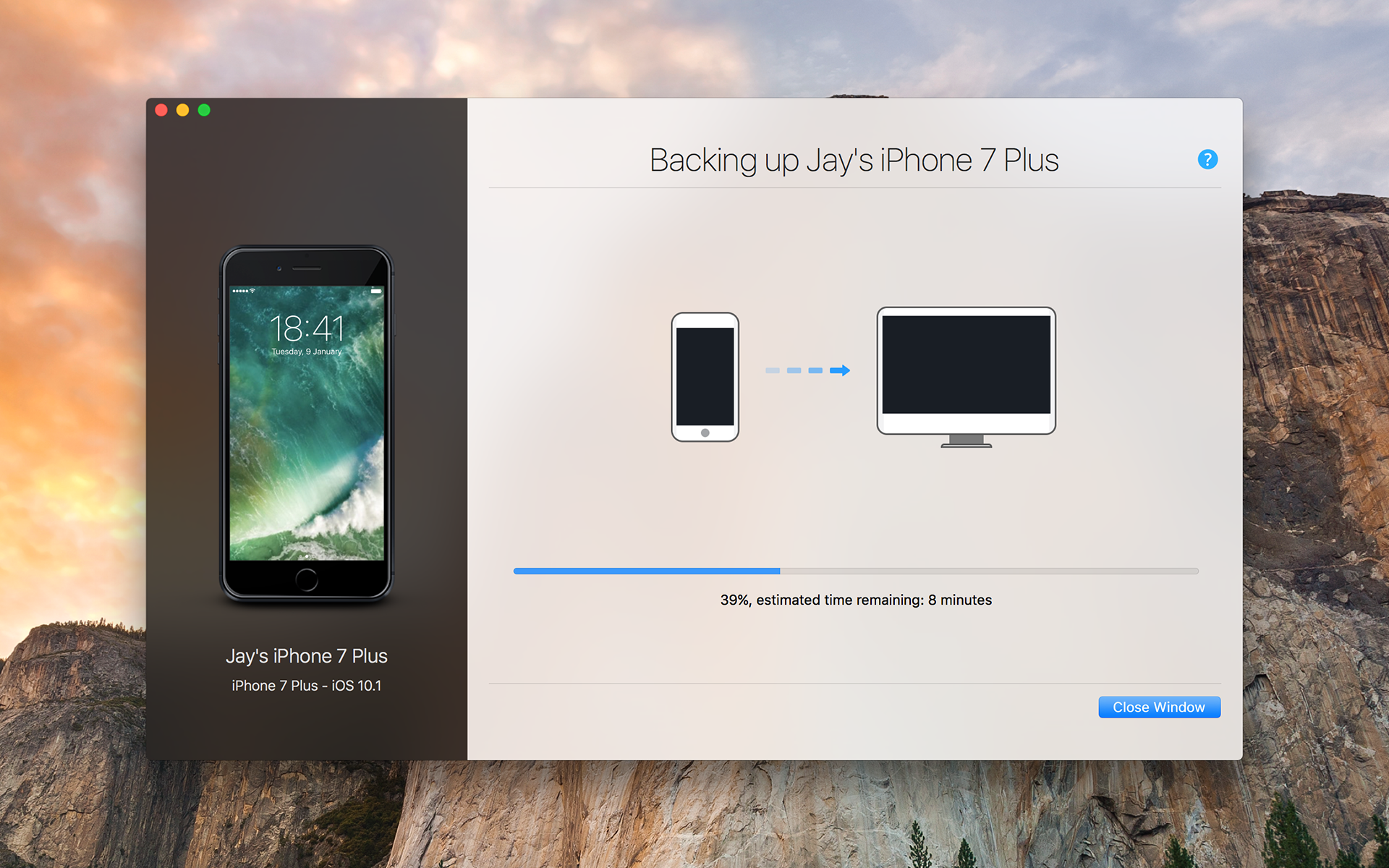 iOS Backup Solution - safely back up your iPhone and iPad and store data on your Mac.