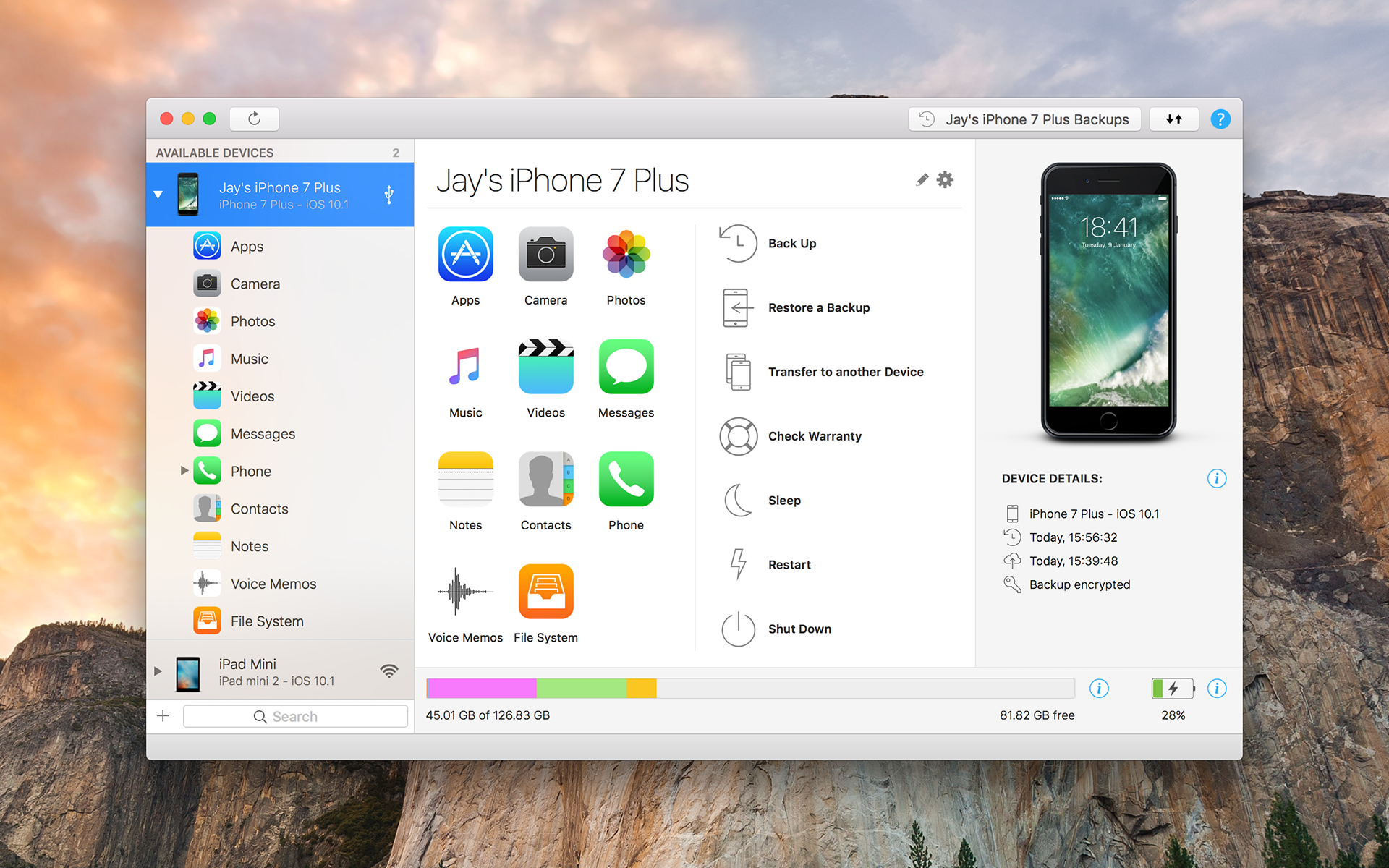iMazing is the easy-to-use iOS device manager to transfer data from your iPhone to Mac.