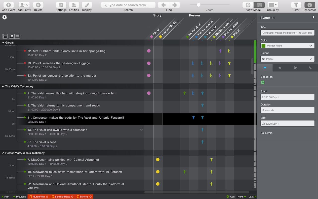 Cómo crear informes visuales y presentar de una forma cronológica las comunicaciones con Aeon Timeline.