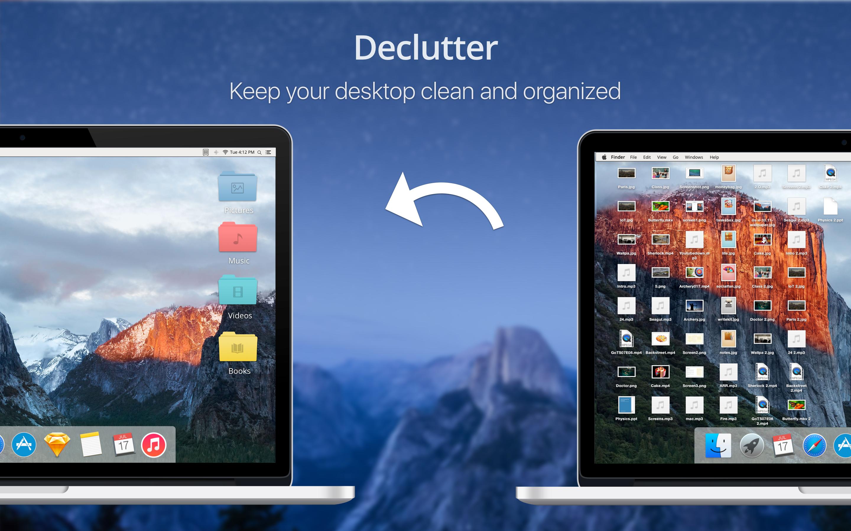 Declutter app keeps your desktop clean and organized