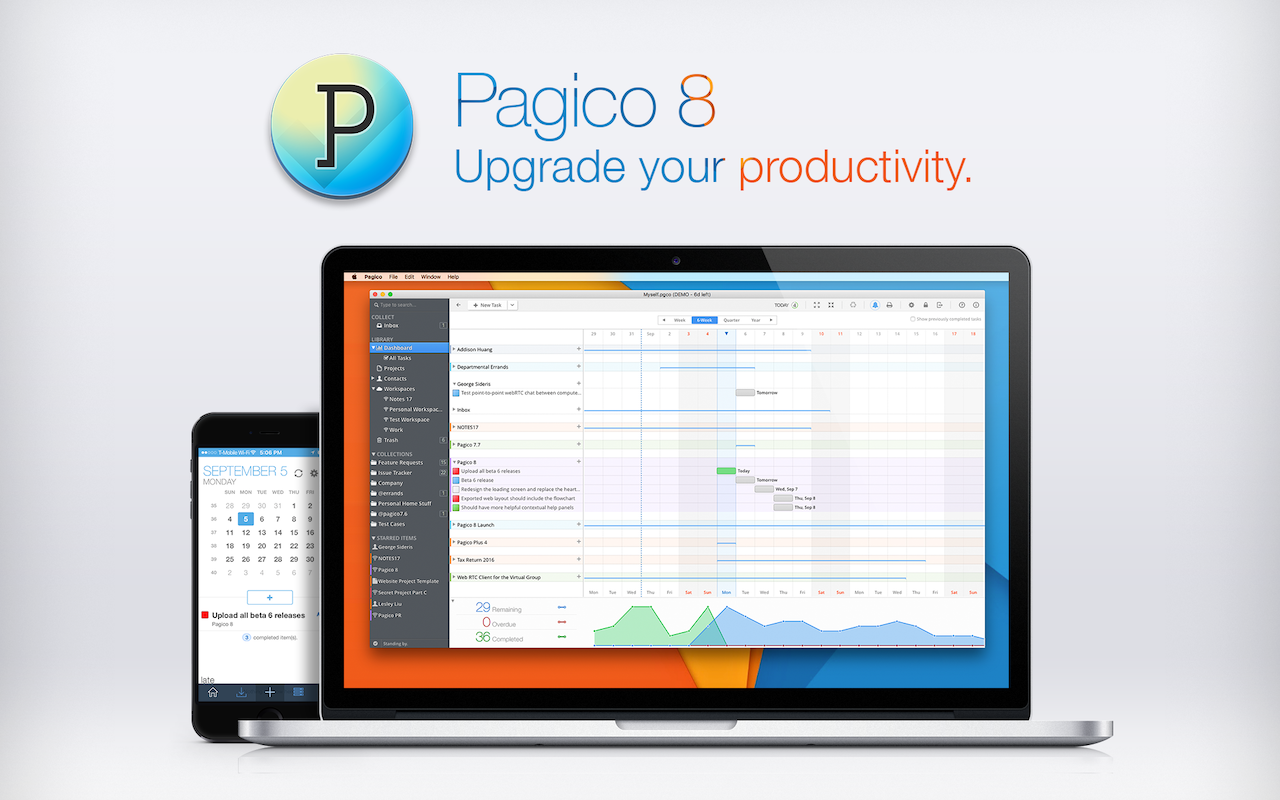 Upgrade your productivity.