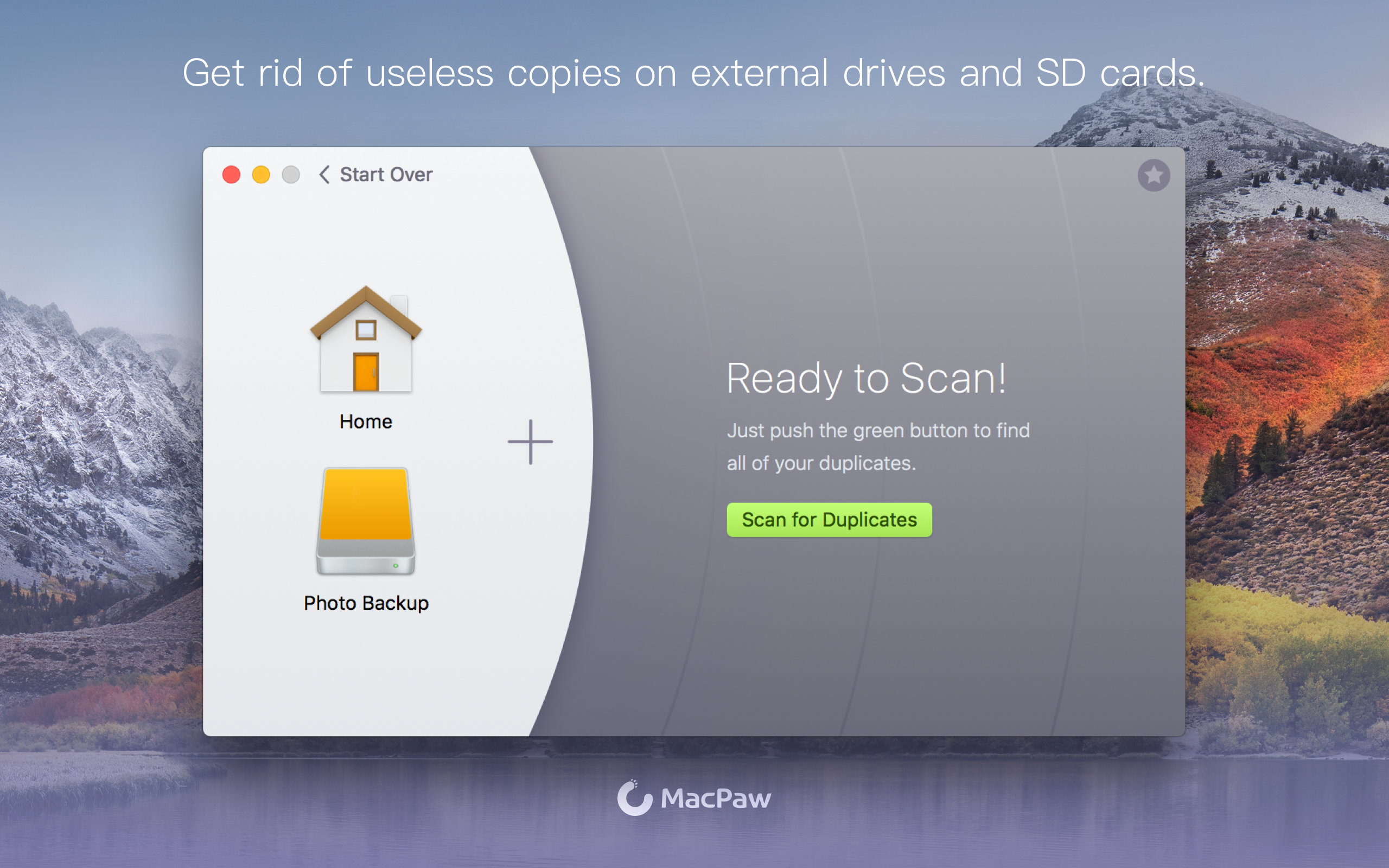 Get rid of useless copies on external drives and SD cards.